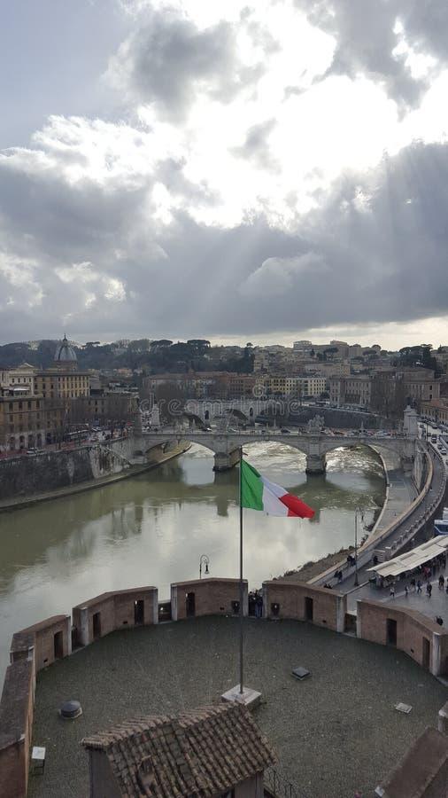 意大利视图 库存图片