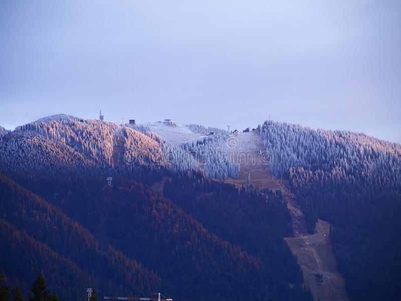 意大利语的阿尔卑斯 库存照片