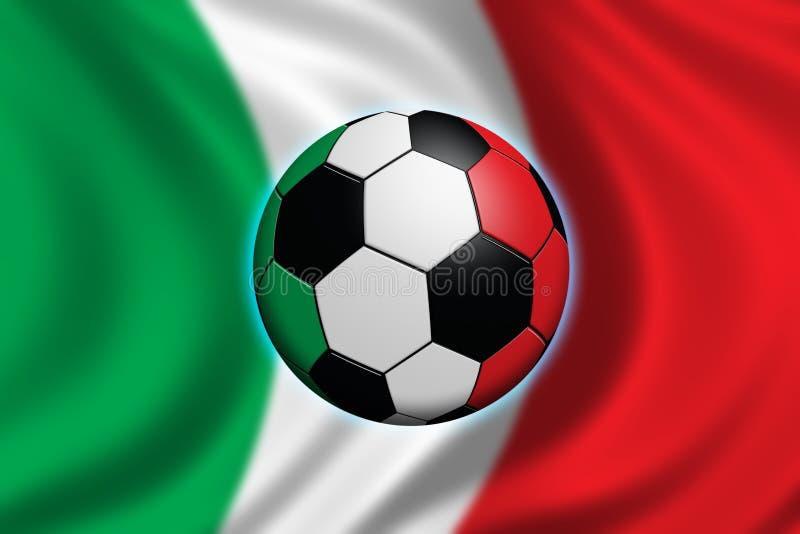 意大利足球 向量例证