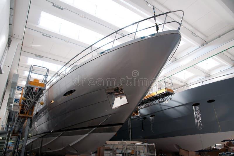 意大利造船厂 库存照片