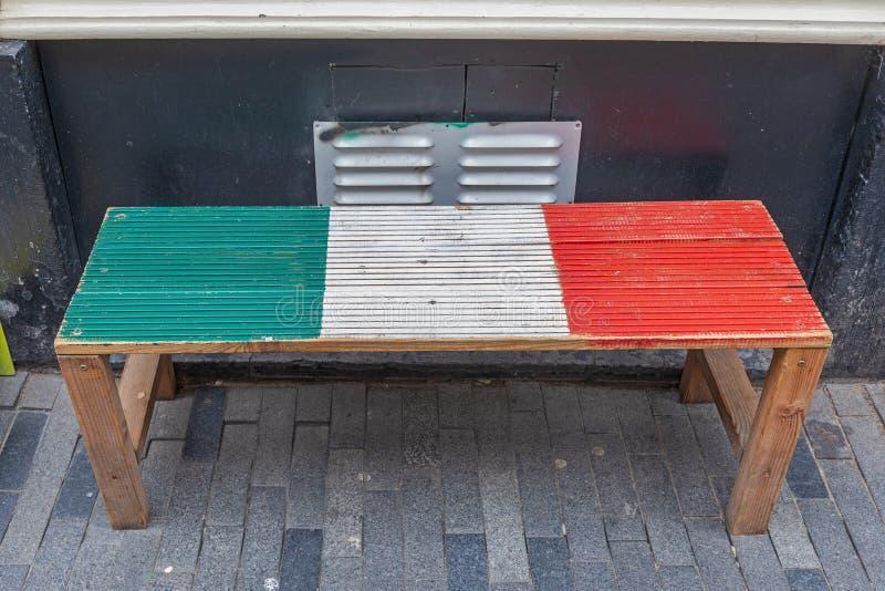 意大利长凳 免版税库存照片