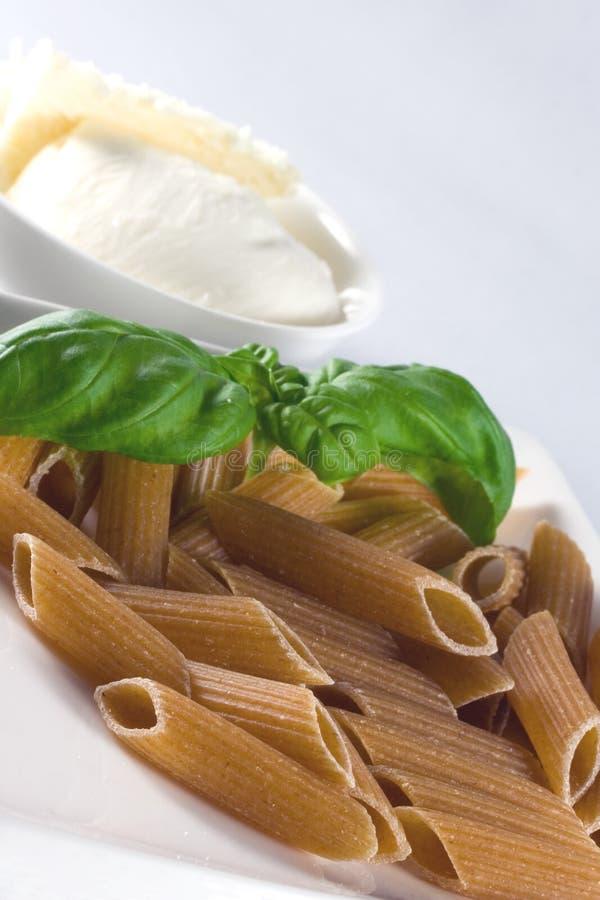 意大利面食全麦 库存图片
