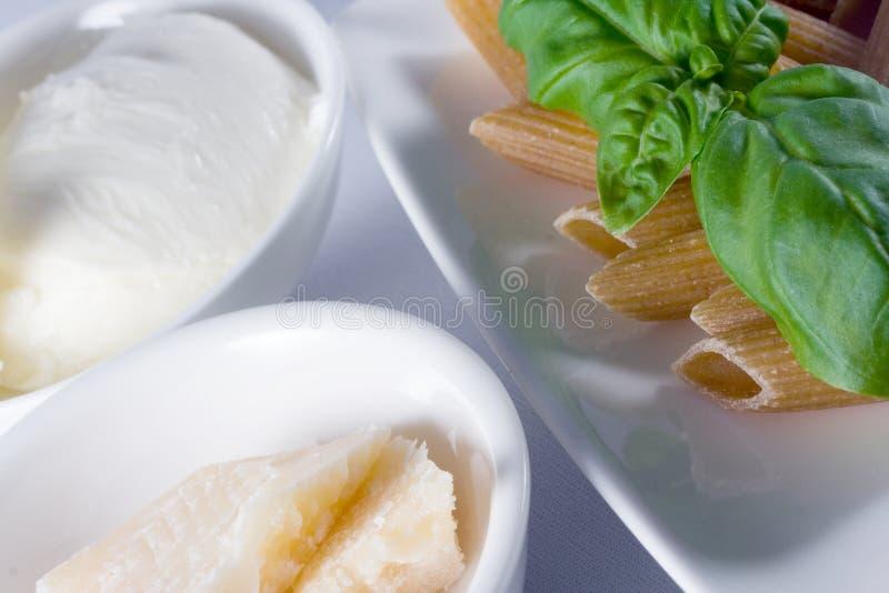 意大利面食全麦 免版税库存图片