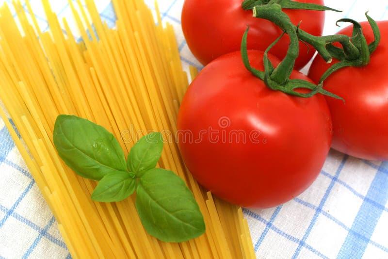 意大利面食准备 免版税库存照片