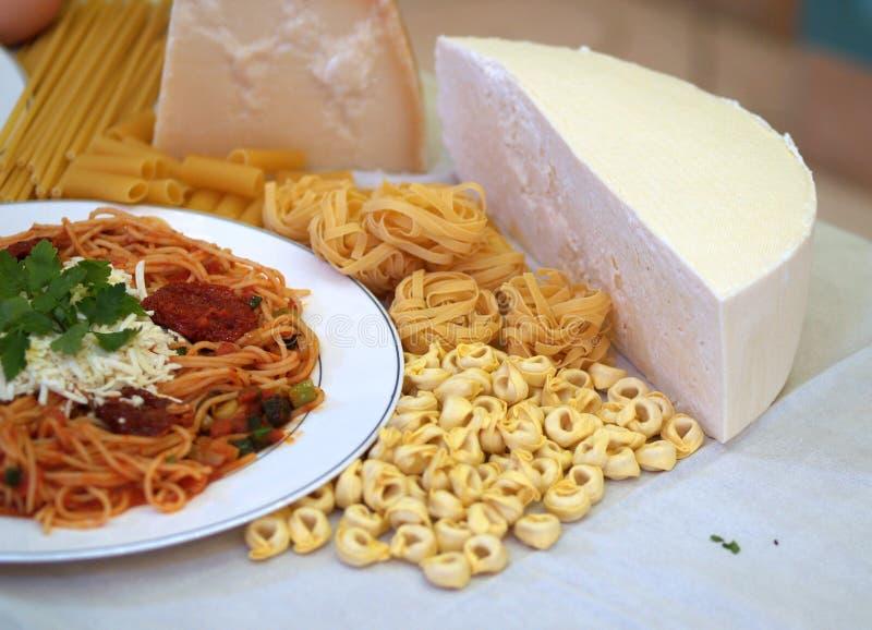 意大利面食和意粉 免版税库存图片