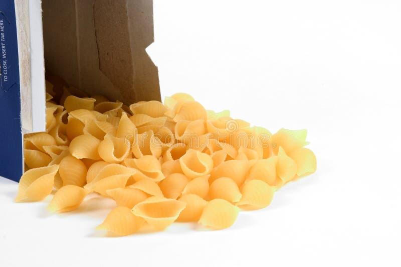 意大利面食壳 免版税库存图片