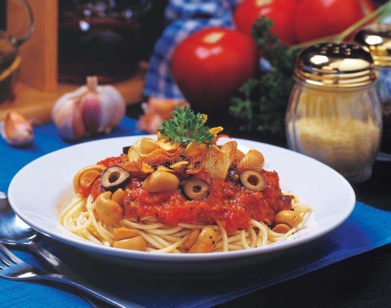 意大利面食意粉 免版税库存图片