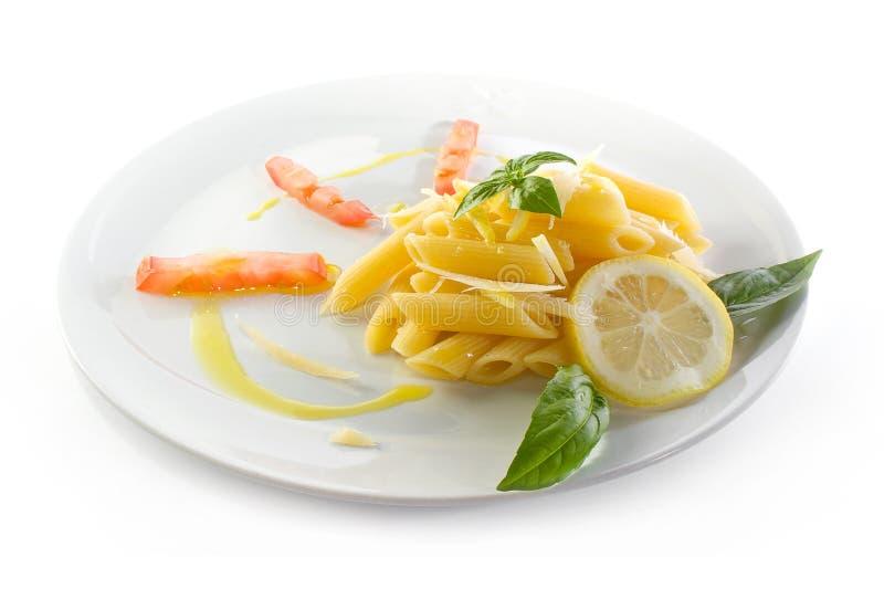 意大利面食素食主义者 图库摄影