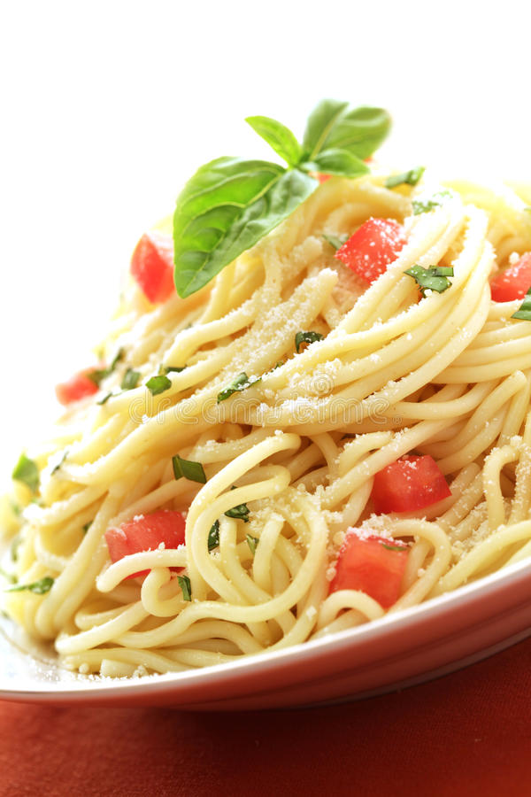 意大利面食素食主义者 免版税库存图片