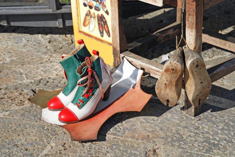 意大利鞋子 免版税库存图片