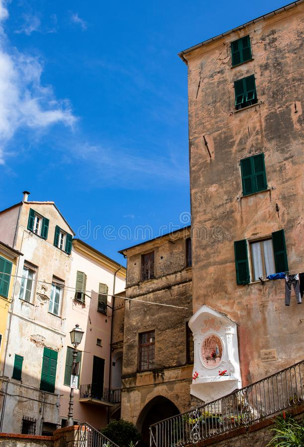 意大利风景和文化圣母玛丽亚 库存照片