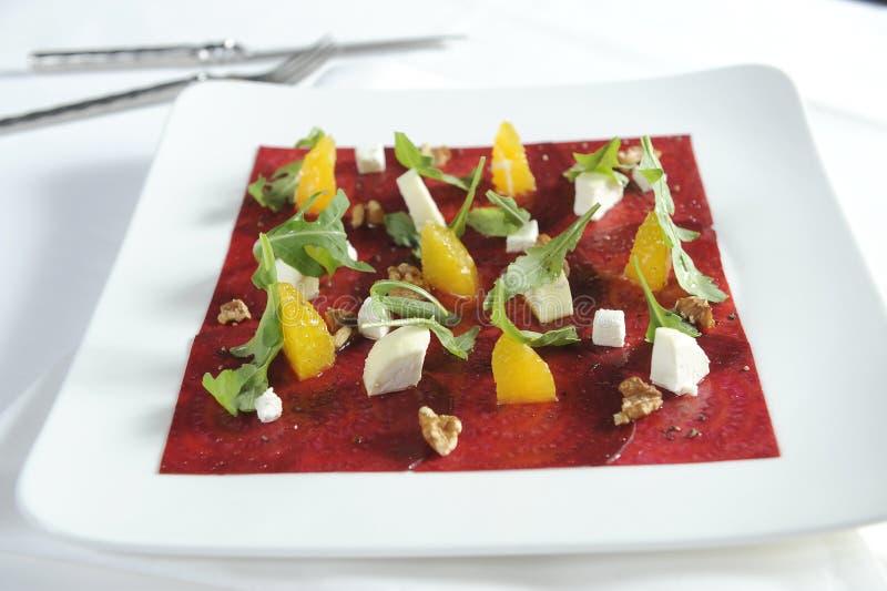 意大利食物-乳酪沙拉 库存照片