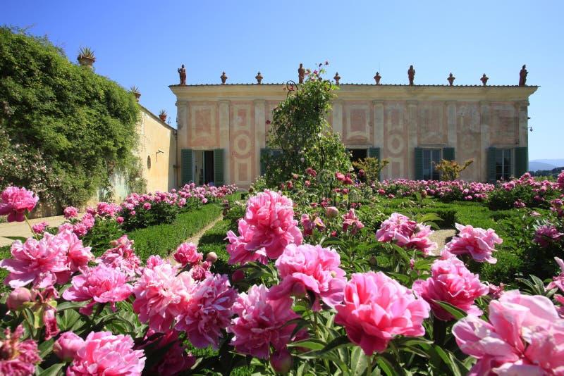 意大利,佛罗伦萨, Boboli庭院 图库摄影