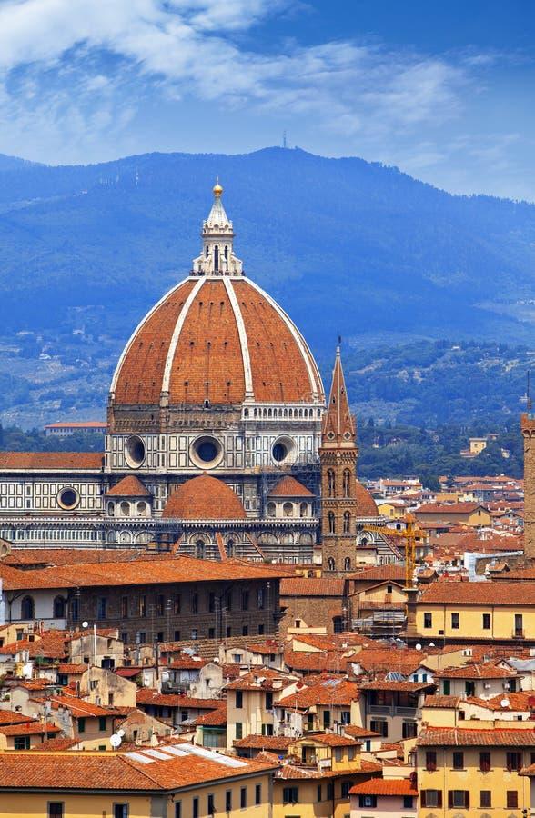 意大利 佛罗伦萨 cathedral del fiore玛丽亚・圣诞老人 免版税库存照片