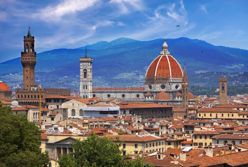 意大利 佛罗伦萨 cathedral del fiore玛丽亚・圣诞老人 免版税库存图片