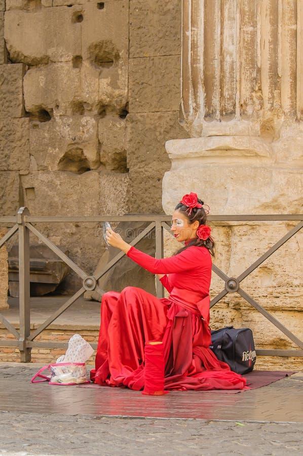 意大利-罗马-市中心 库存图片