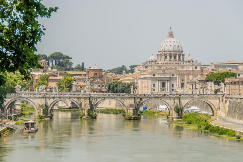 意大利-罗马-市中心 图库摄影