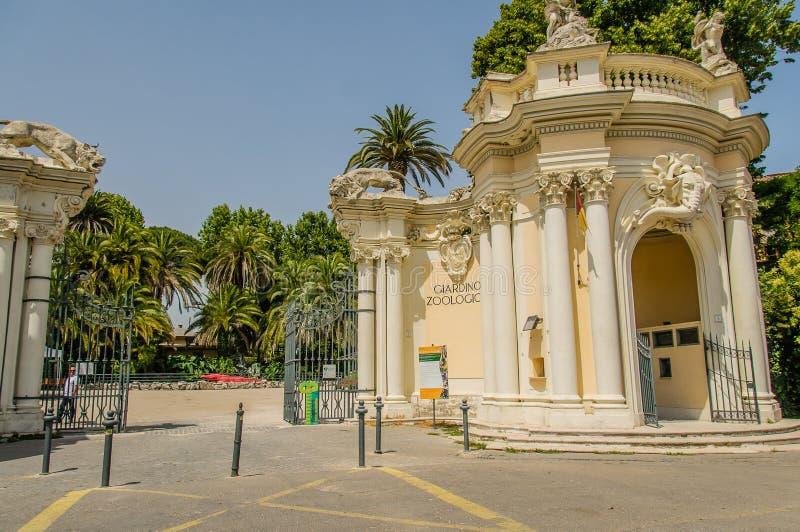 意大利-罗马- Bioparco 免版税库存照片