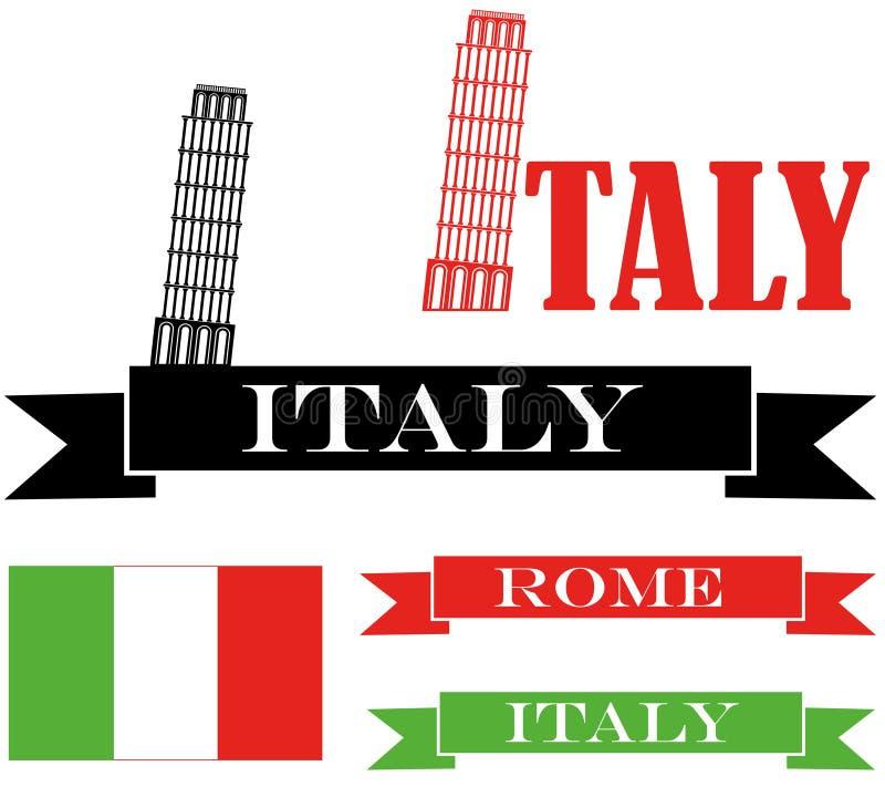 意大利 库存例证