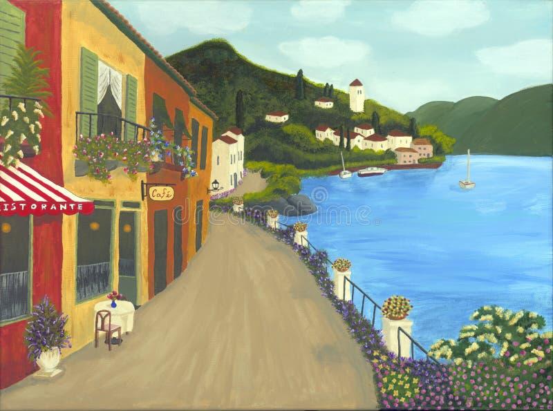 意大利绘画 库存照片