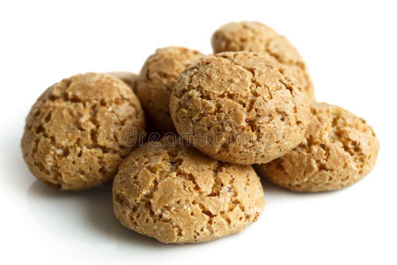 意大利amaretti饼干 免版税库存照片
