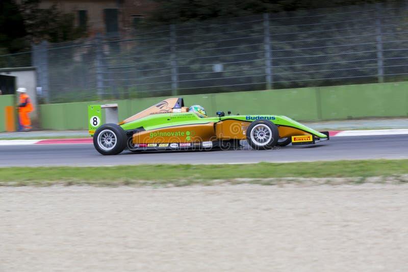 意大利F4冠军 库存照片
