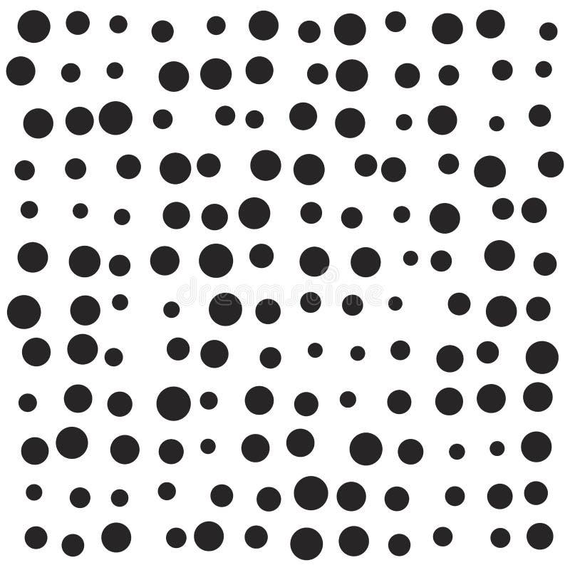 任意小点,雪,斑点传染媒介标志象设计 向量例证