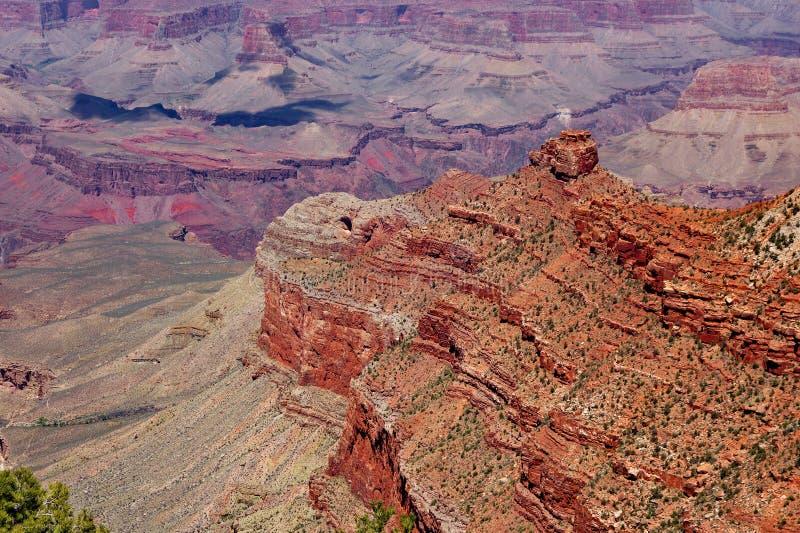 意想不到的看法,大峡谷看法  图库摄影