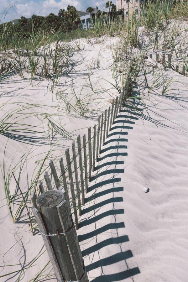愚蠢海滩大西洋的查尔斯顿南卡罗来纳 免版税库存照片