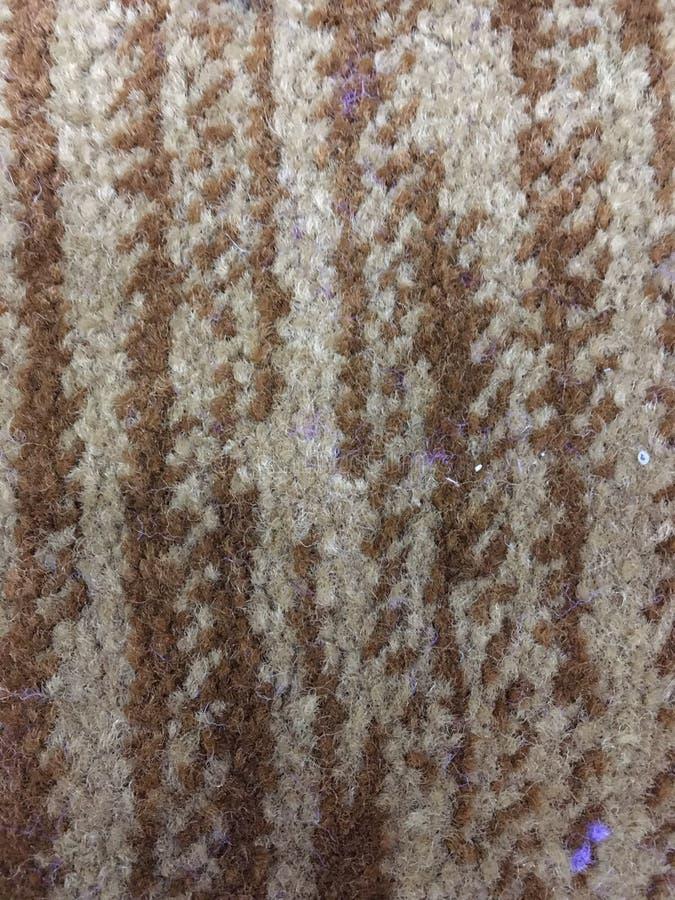 感到的地毯棕色 免版税库存照片