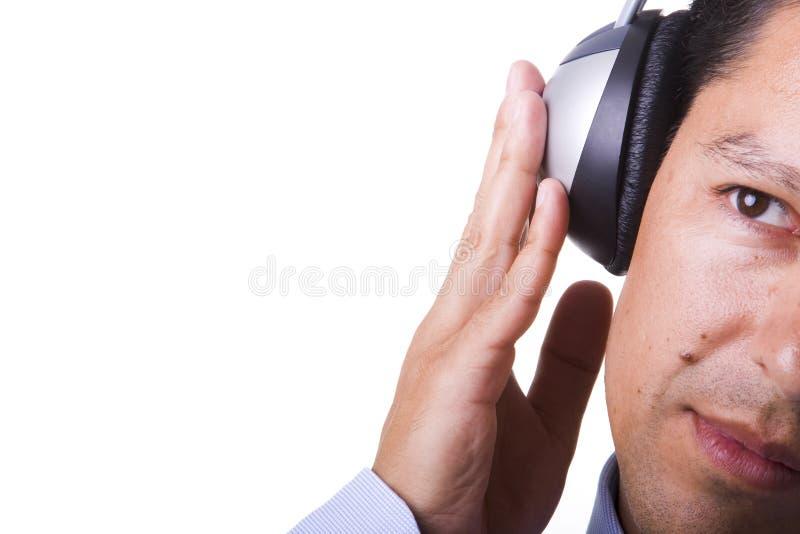 感受音乐 免版税库存照片