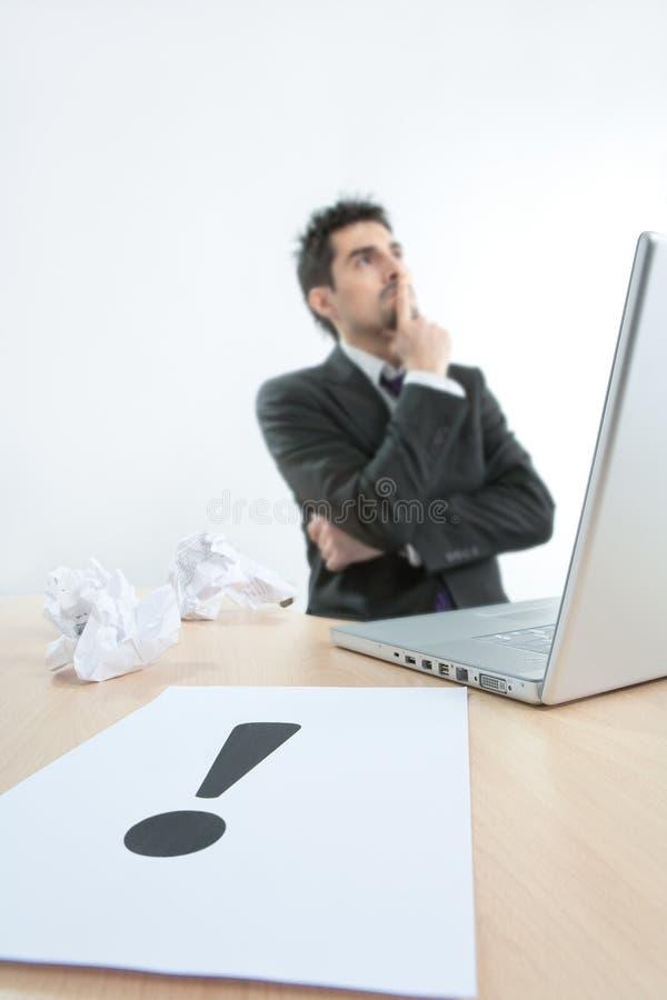 感叹号 免版税图库摄影