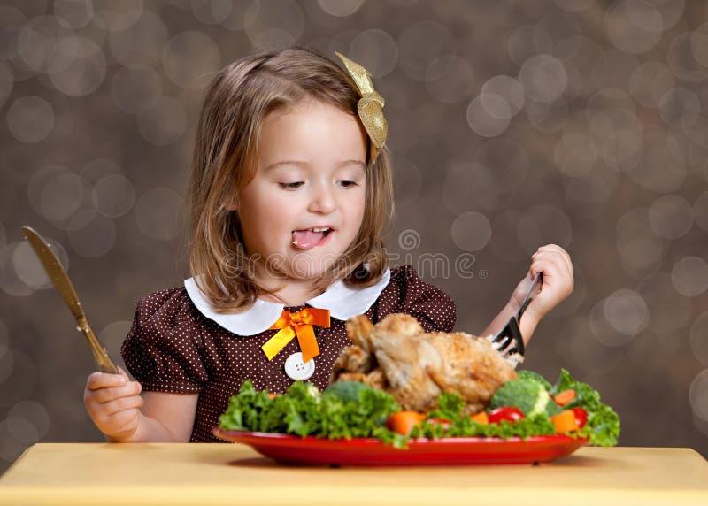 感恩晚餐 免版税库存照片
