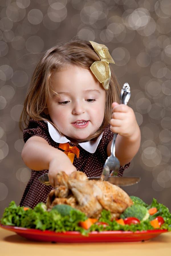 感恩晚餐 库存照片