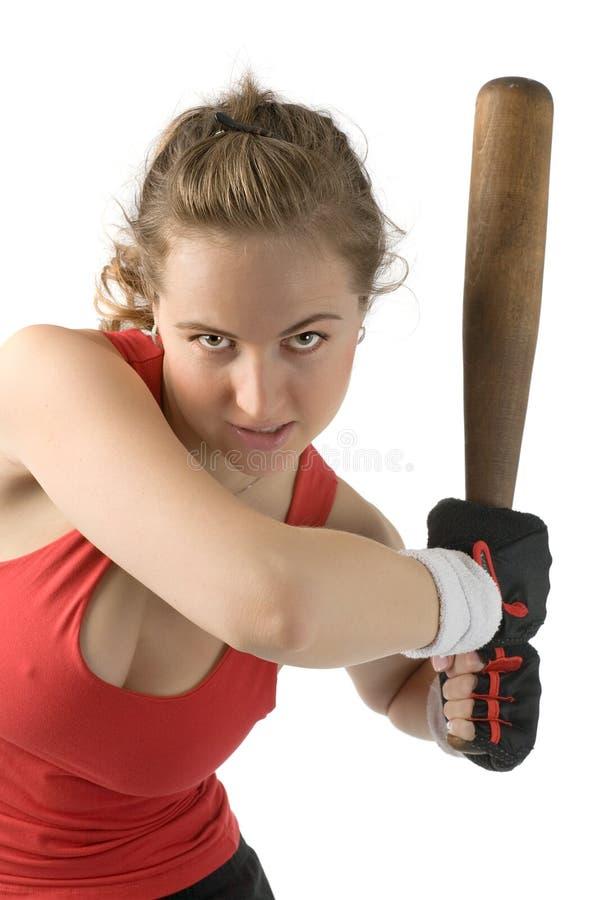 愤怒的妇女 库存图片