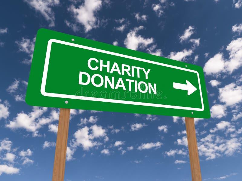 慈善捐赠 皇族释放例证
