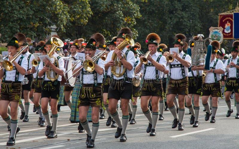 慕尼黑啤酒节在慕尼黑 库存图片