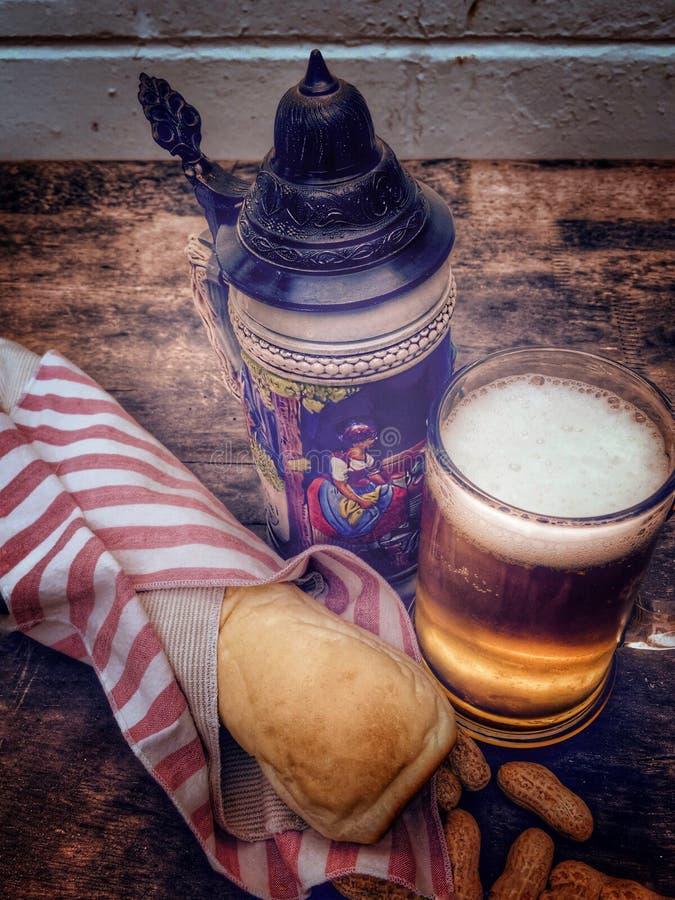 慕尼黑啤酒节,秋天庆祝 免版税库存图片