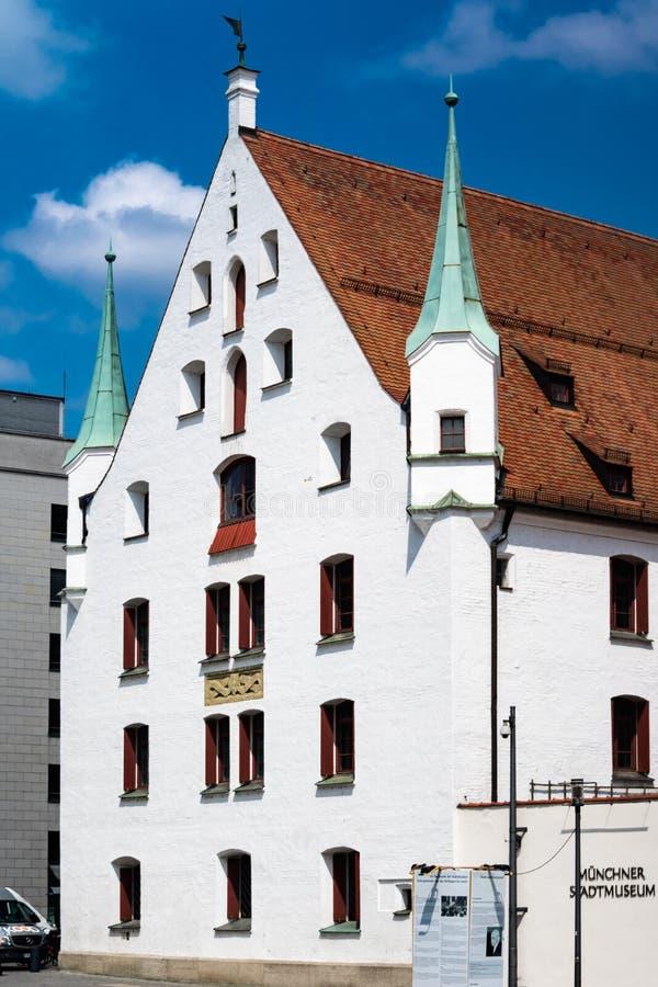 慕尼黑市博物馆在德国 库存图片