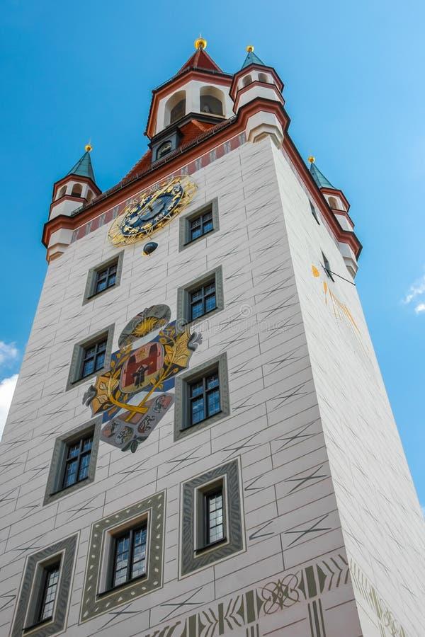 慕尼黑德国老城镇厅 免版税库存照片