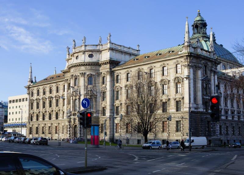 慕尼黑 正义宫殿 库存图片
