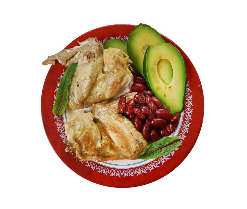 慢烹饪器材Tex-Mex鸡翅 库存照片
