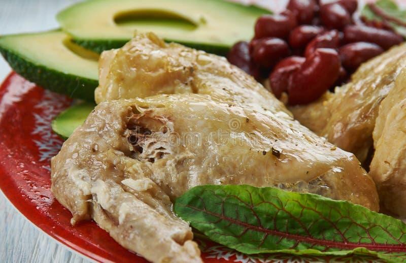 慢烹饪器材Tex-Mex鸡翅 库存图片