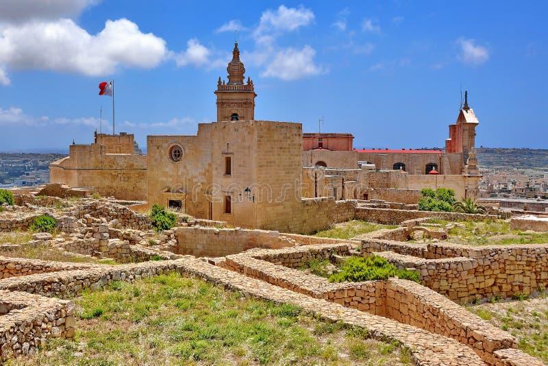 戈佐岛,马耳他 免版税库存图片