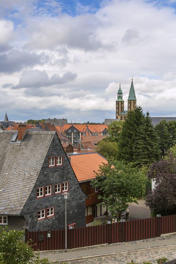 戈斯拉尔,德国 免版税图库摄影