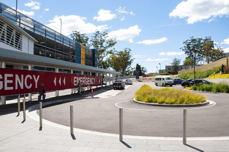 戈斯福德医院大厦进展更新H43ne 2017年4月 库存图片
