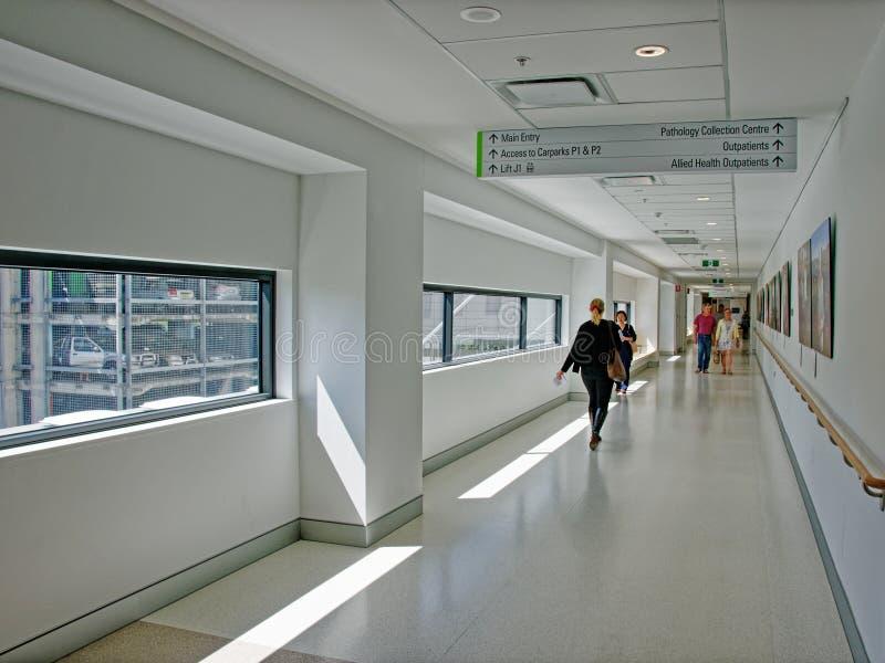 戈斯福德医院新的翼 H36ed 2018年9月 免版税库存图片