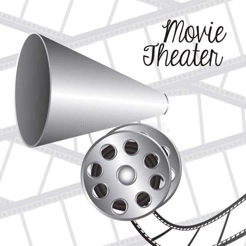 Download 电影象 向量例证. 插画 包括有 颜色, 好莱坞, 设备, 艺术, 戏院, 反气旋, 圈子, 投反对票, 图象 - 30331035