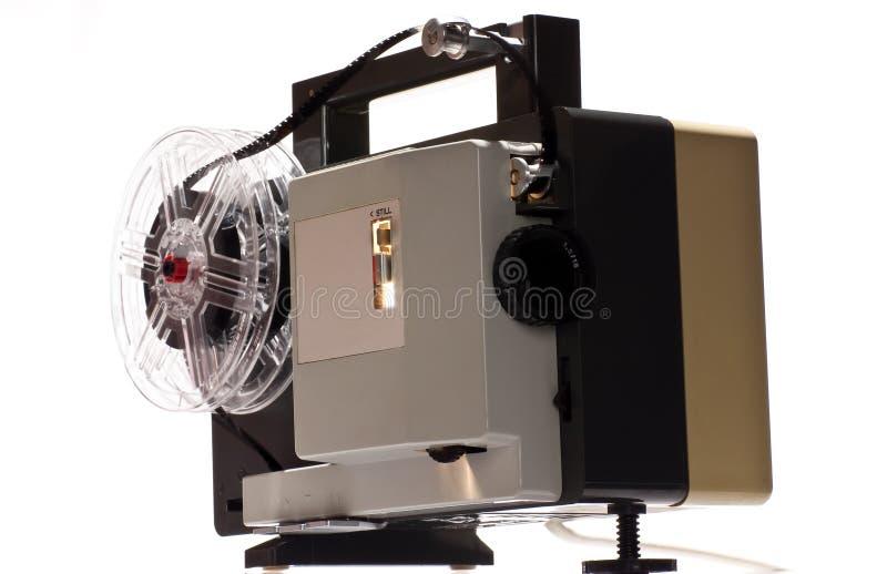 戏院家庭老放映机 免版税库存图片
