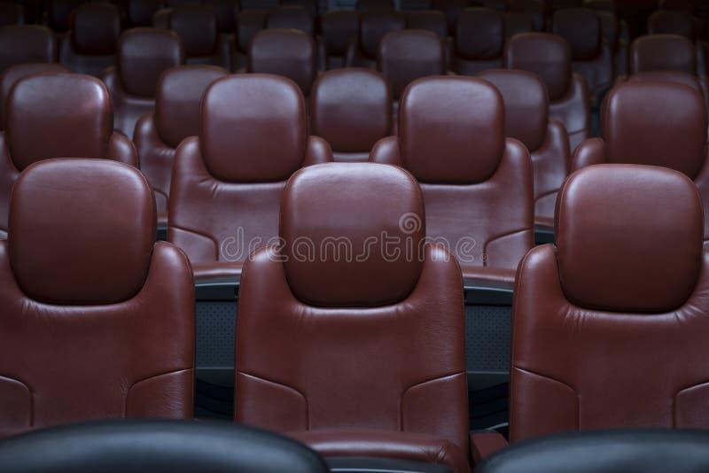 戏院椅子 库存照片